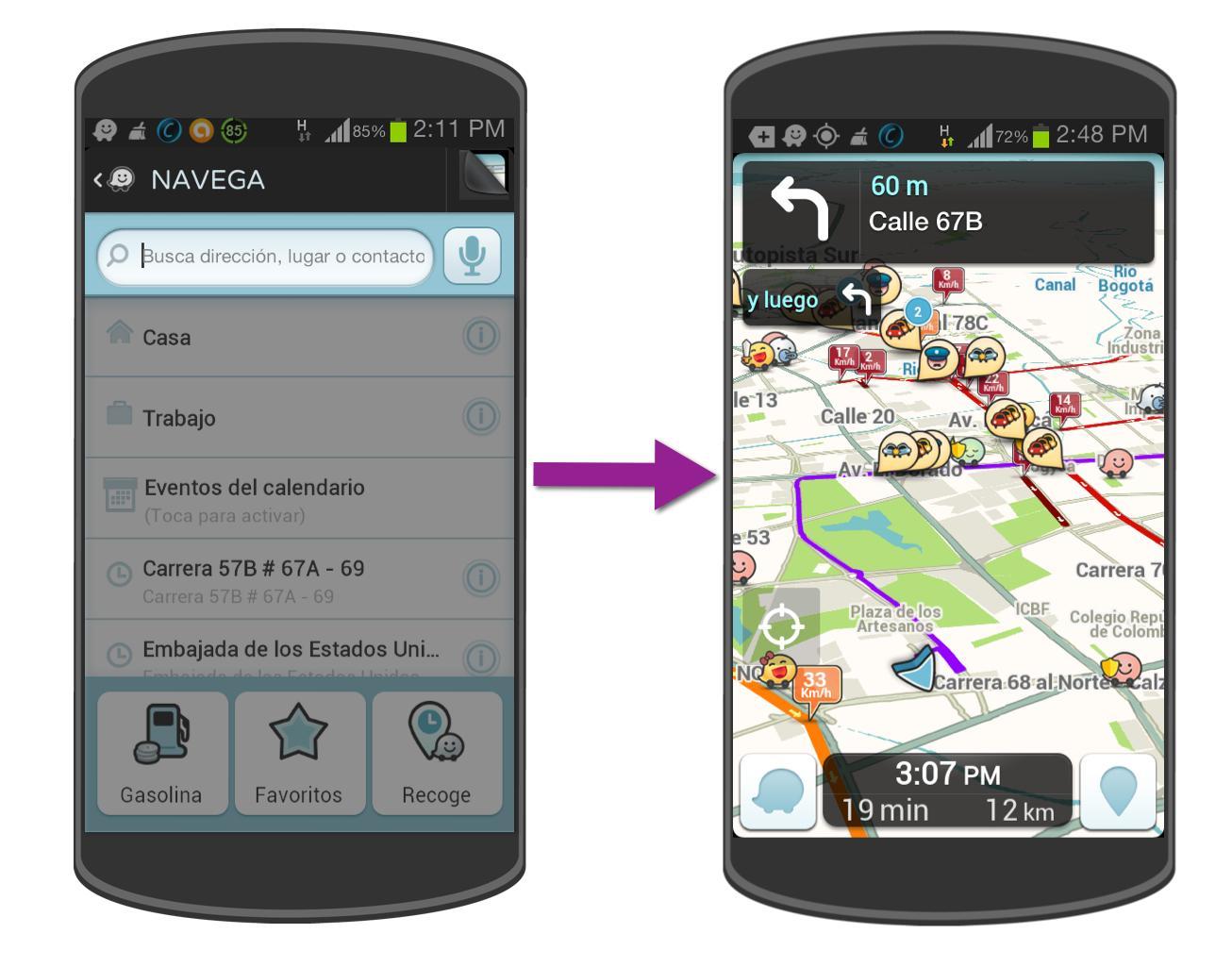 Navega con Waze y entérate de todo lo que sucede en tu camino.