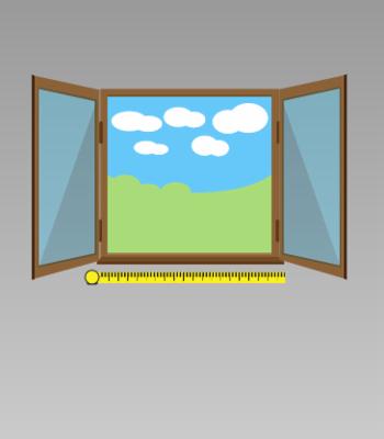 Medir una ventana.