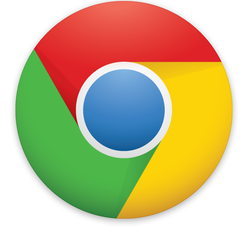 Ícono de Google Chrome.
