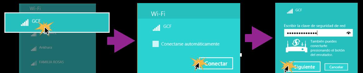 Conectarse a una red Wi-Fi