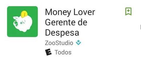 Money Lover Gerente de Despesa