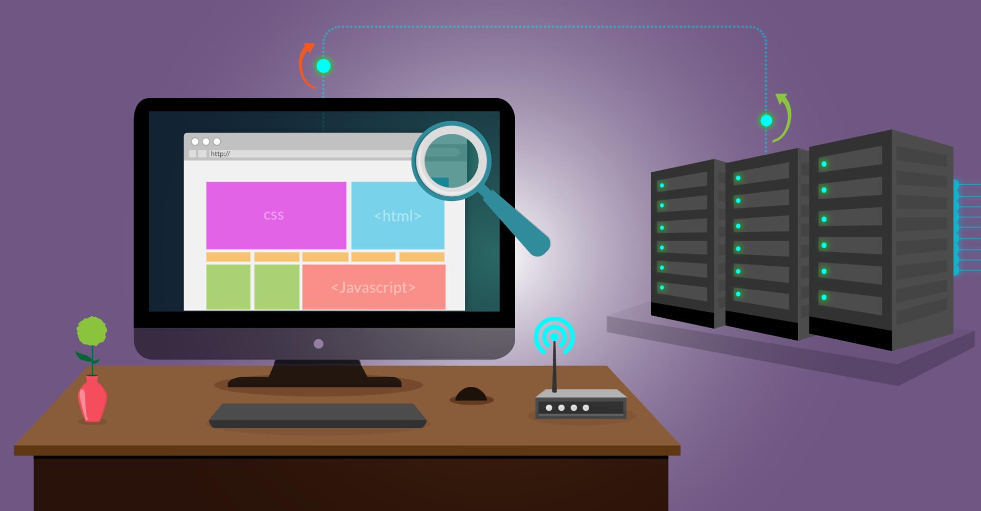 Conceptos técnicos en la creación de sitios web.