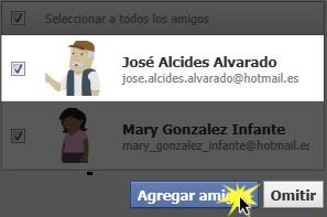 Haz clic en Agregar amigos.