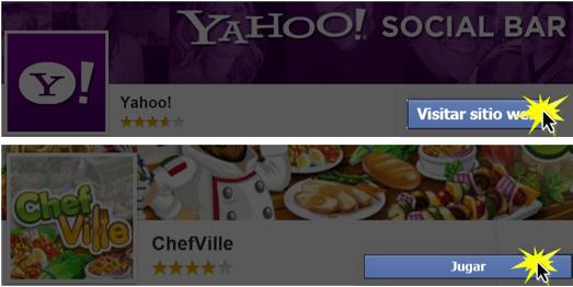 El nombre de ese botón depende de la aplicación que hayas elegido.