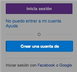 Crear una cuenta en Yahoo!