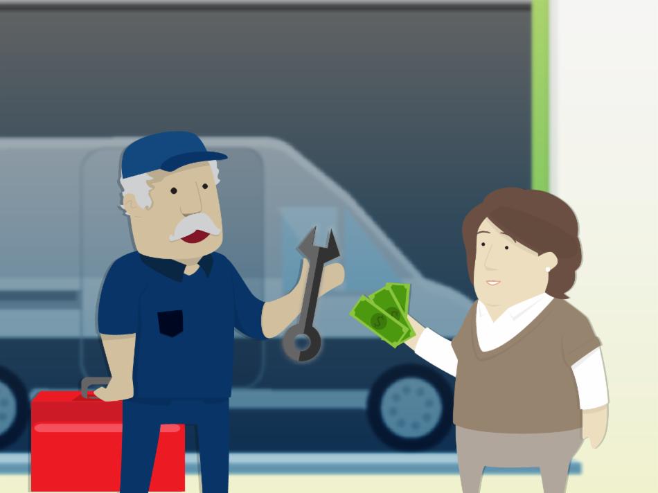 La gestión y mantenimiento del bien que es objeto del contrato de arrendamiento financiero corre a cargo tuyo.