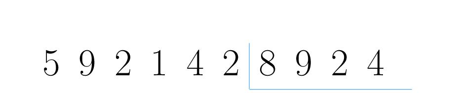 Posicione os números de forma adequada.