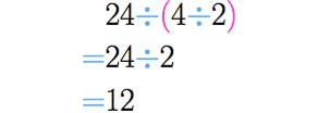 Associamos os dois últimos números.