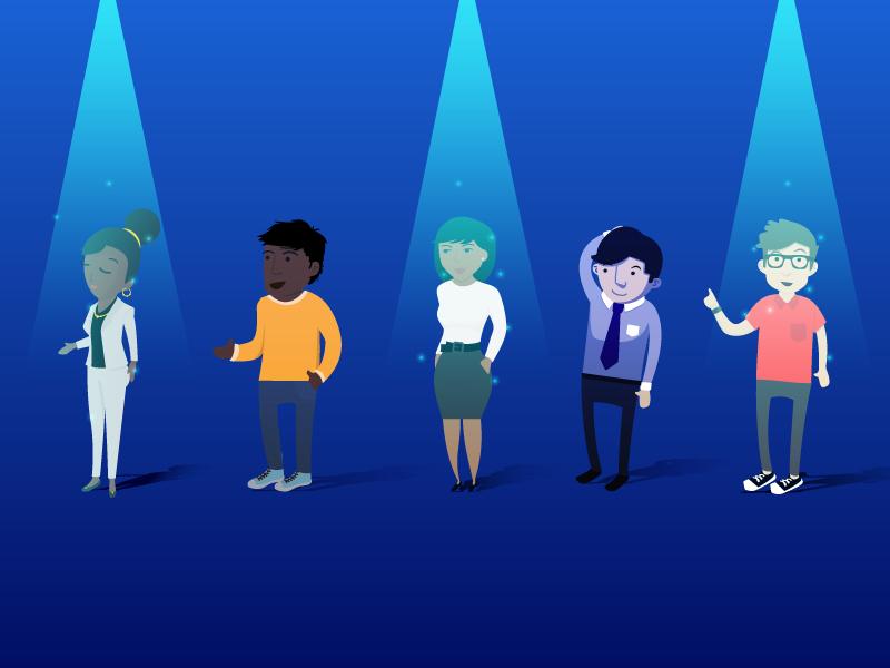 La elección de un buen equipo de trabajo será fundamental para el éxito de tu compañía.