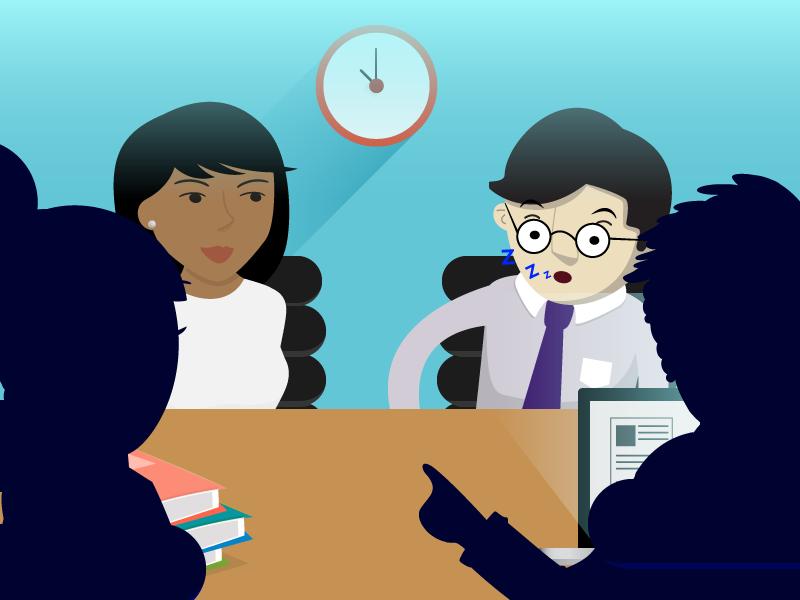 Es mejor abstenerse de realizar reuniones poco productivas que afecten el rendimiento laboral.