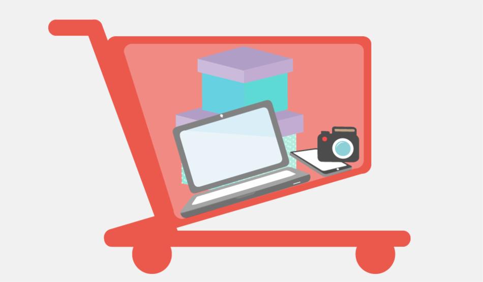 Usa la tarjeta de crédito para compras de mayor valor y poco frecuentes.