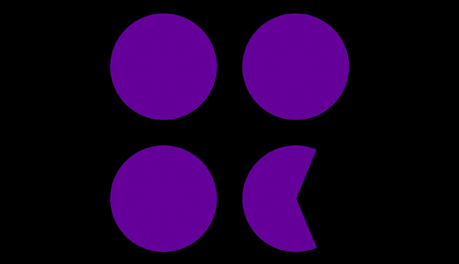 Tres enteros y cinco octavos son veintinueve octavos.