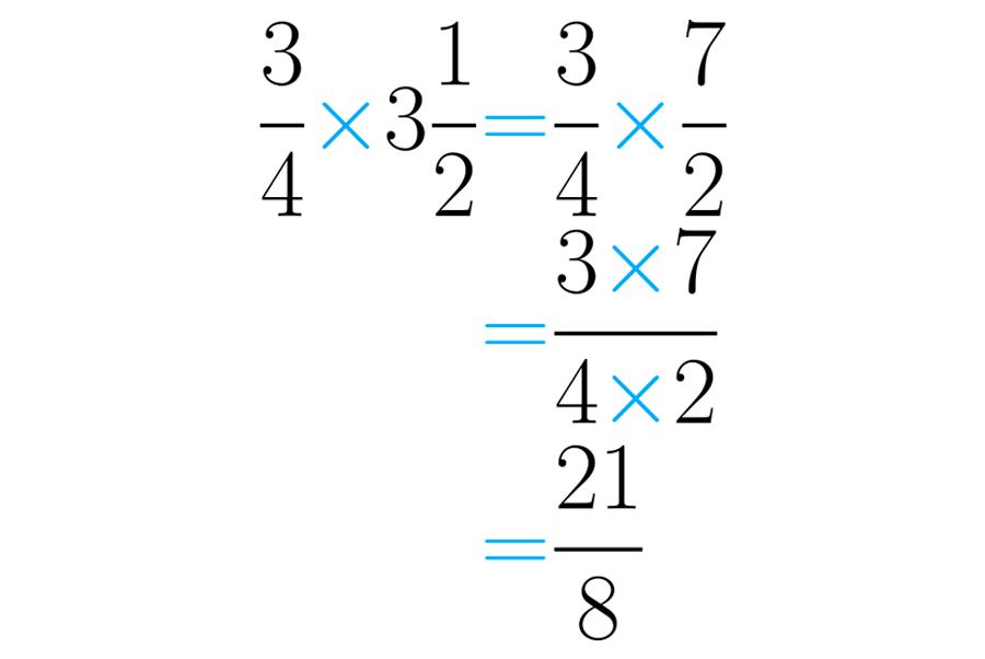 Números Fracionários Problemas Com Multiplicação De Frações