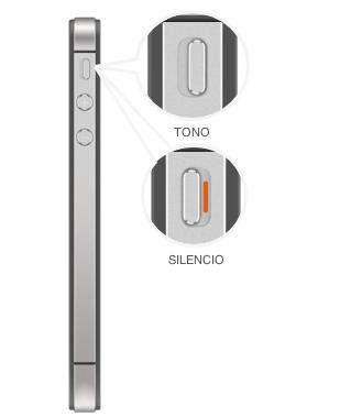 Interruptor Tono/silencio