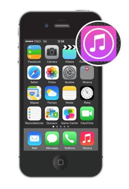 Aplicación iTunes