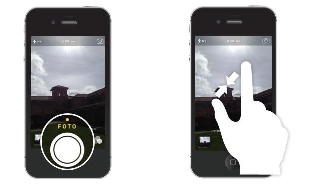 Tomar fotos con el iPhone