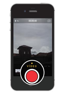 Grabar videos con el iPhone.
