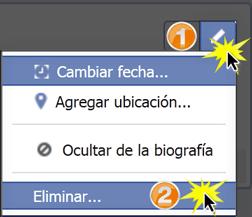 Haz clic en el botón Editar o eliminar (lápiz).
