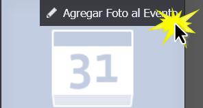 Haz clic en Agregar foto al evento.