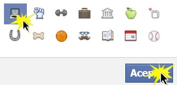 Escoge un ícono que represente tu grupo.