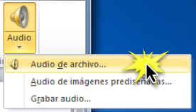 Audio de archivo