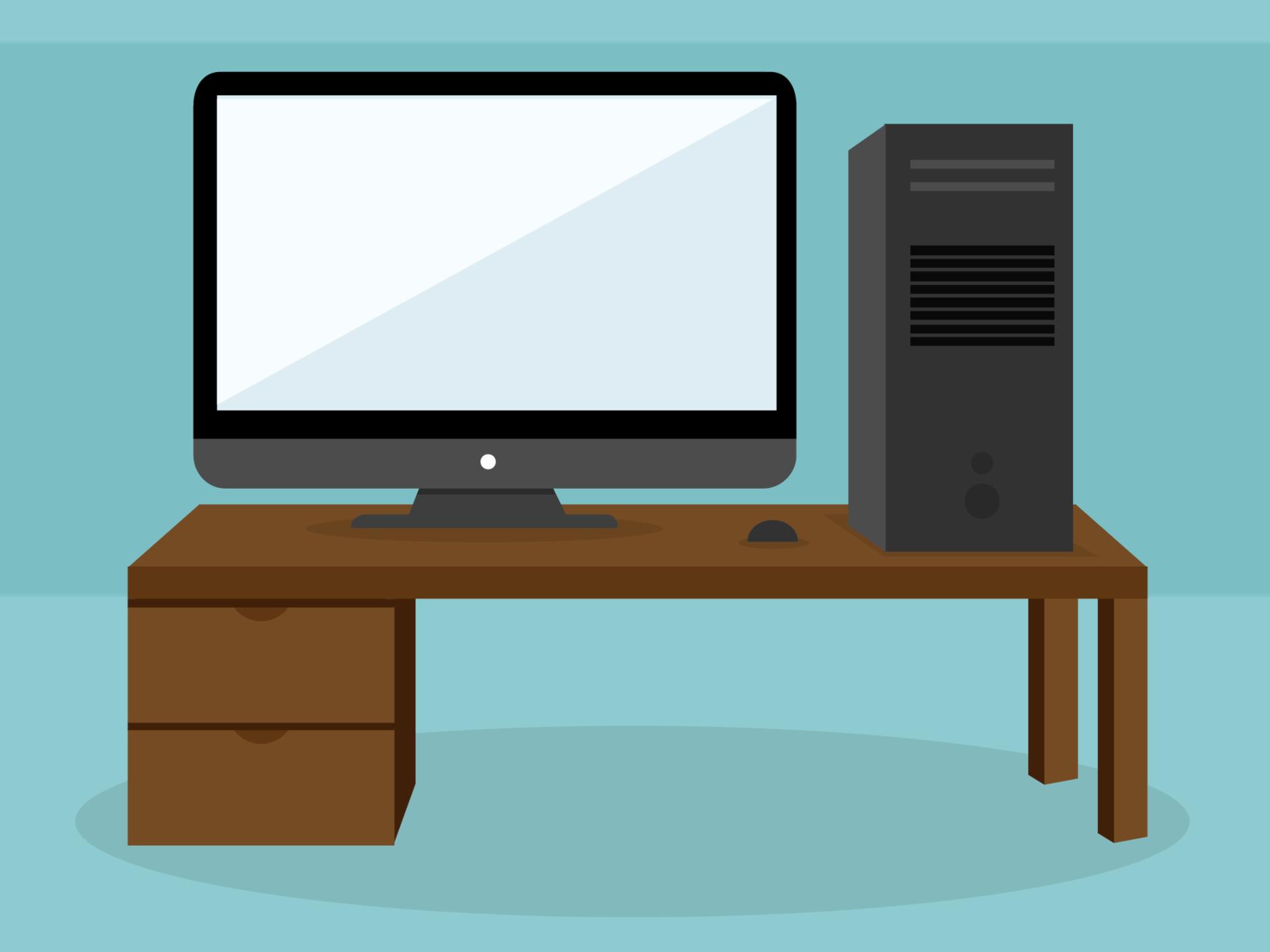 Computador Desktop ou de mesa.