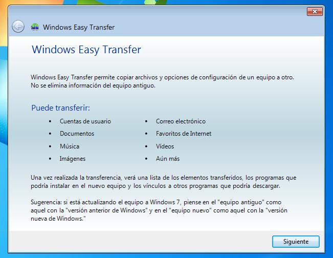 Ventana de alerta para transferir archivos
