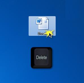 Eliminar archivos en PC utilizando el teclado
