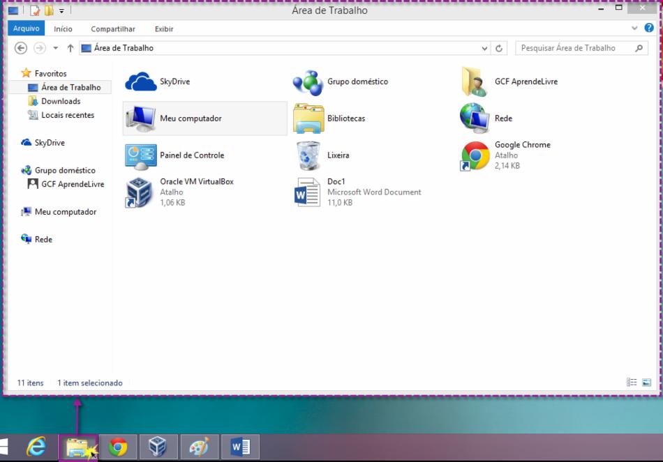 Abrir o Windows Explorer