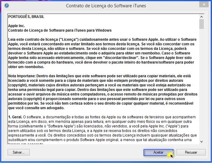 Concluir a instalação de um programa em um PC