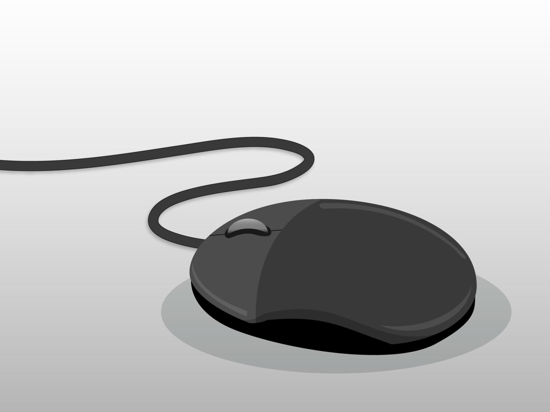 Mouse de computador.