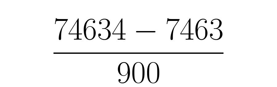Tantos nueves como cifras tenga la parte que se repite periódicamente, seguidos de tantos ceros como tenga la parte decimal que no se repite.