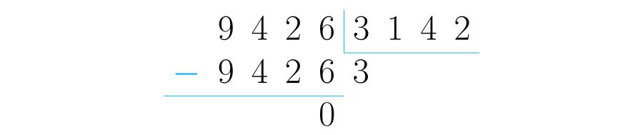 La división nos dice cuántas veces está contenida una cantidad en otra,