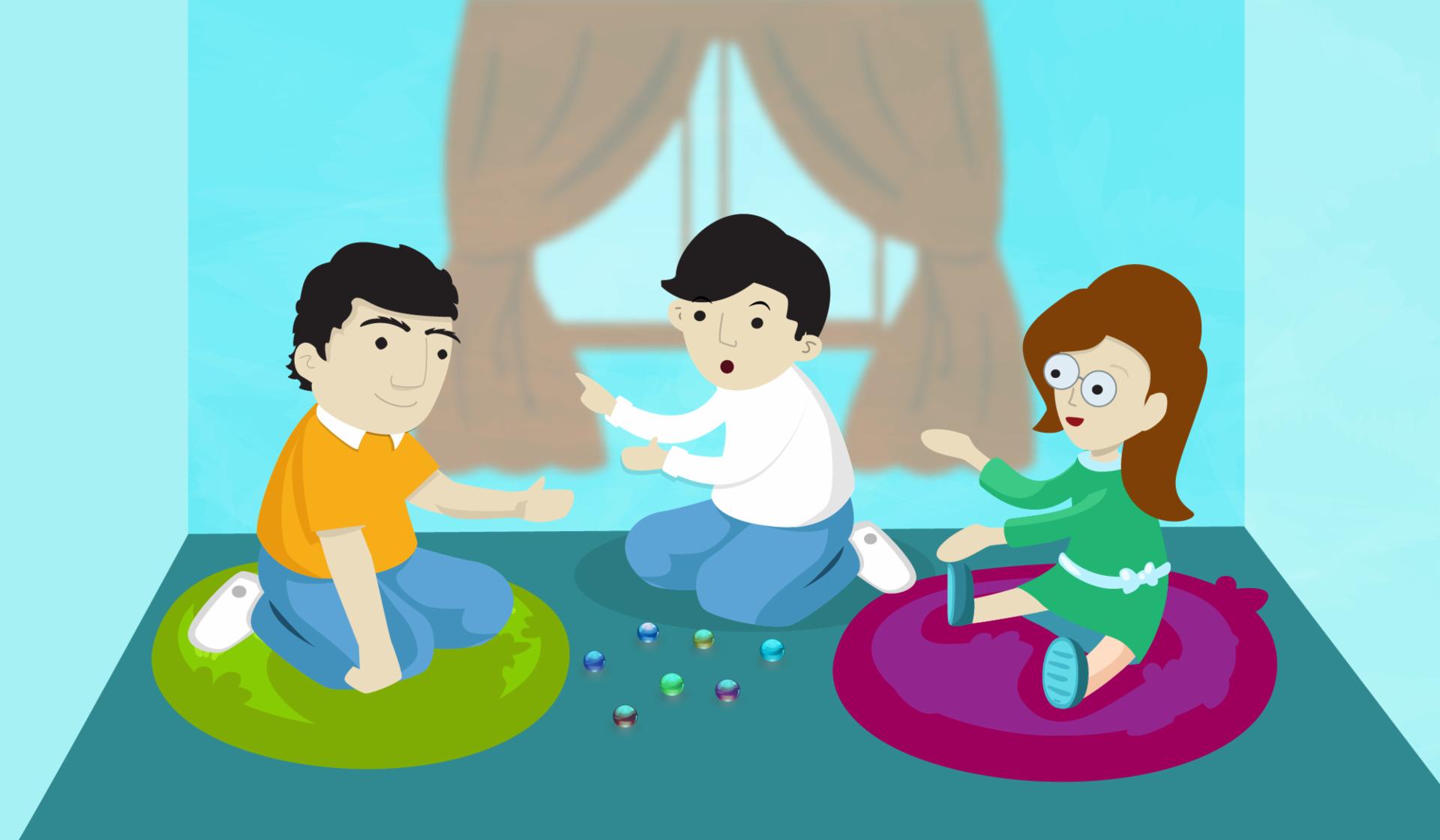 ¿Con qué número se pueden representar las contribuciones de los niños?