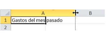 Imagen ejemplo de paso 2 para ajustar ancho de columna.