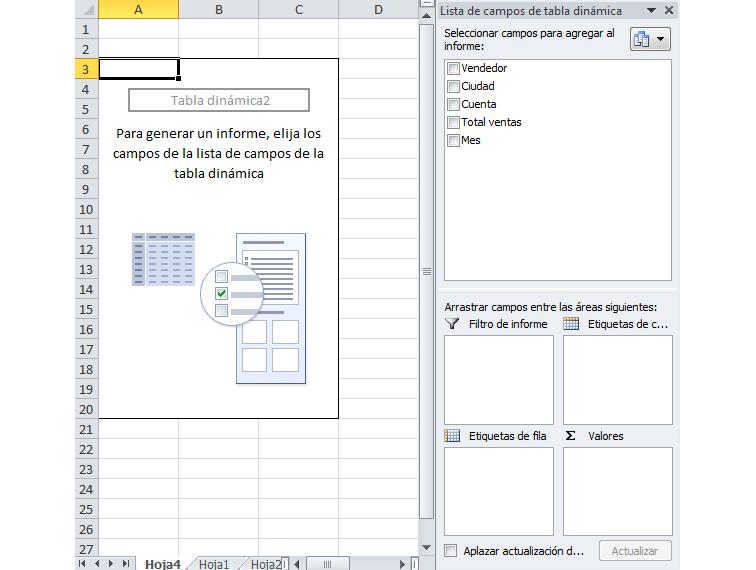 Imagen ejemplo de una tabla dinámica.