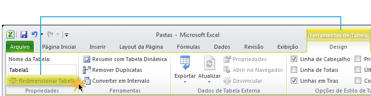Exemplo de imagem do comando.