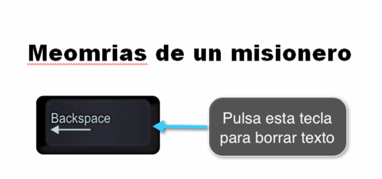 Eliminar texto en Word 2010