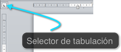 Selector de tabulación
