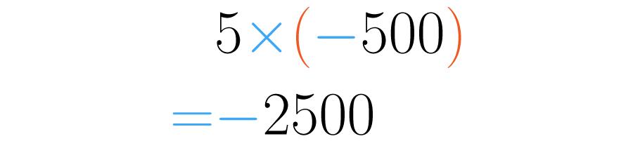 Se realiza la multiplicación de enteros.