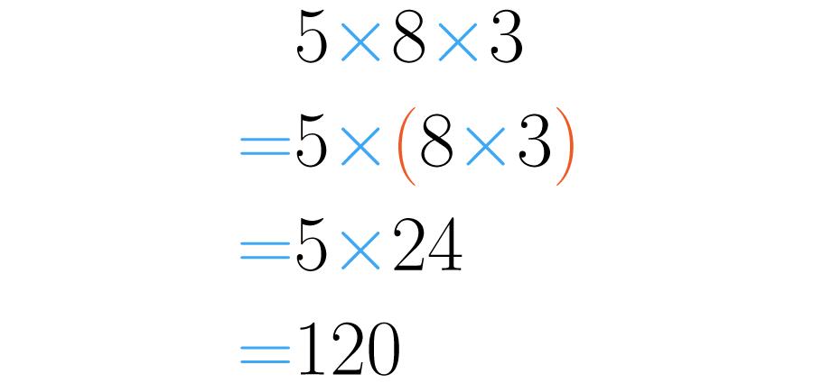 Asociamos los dos últimos números.