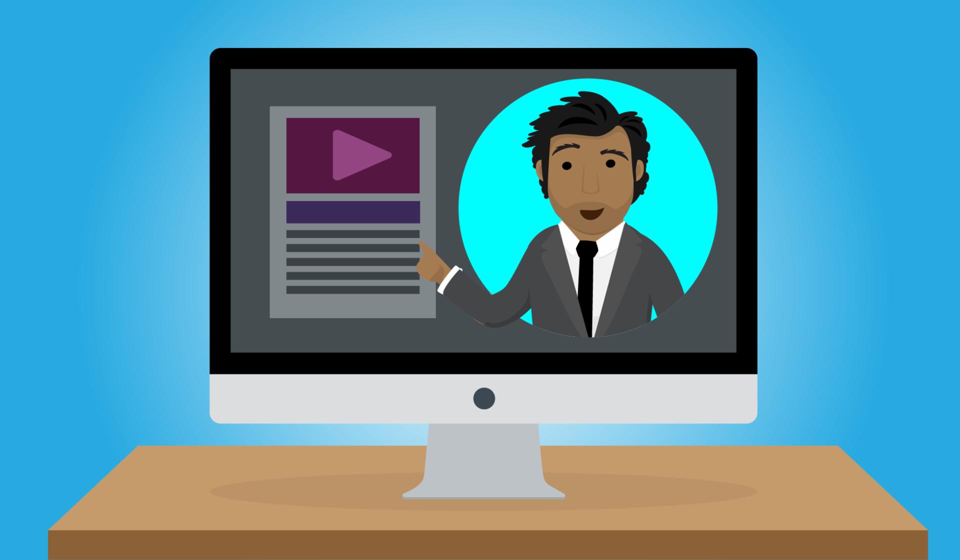 Hablar de tu experiencia en un video puede ayudar a que te destaques en una oferta laboral.