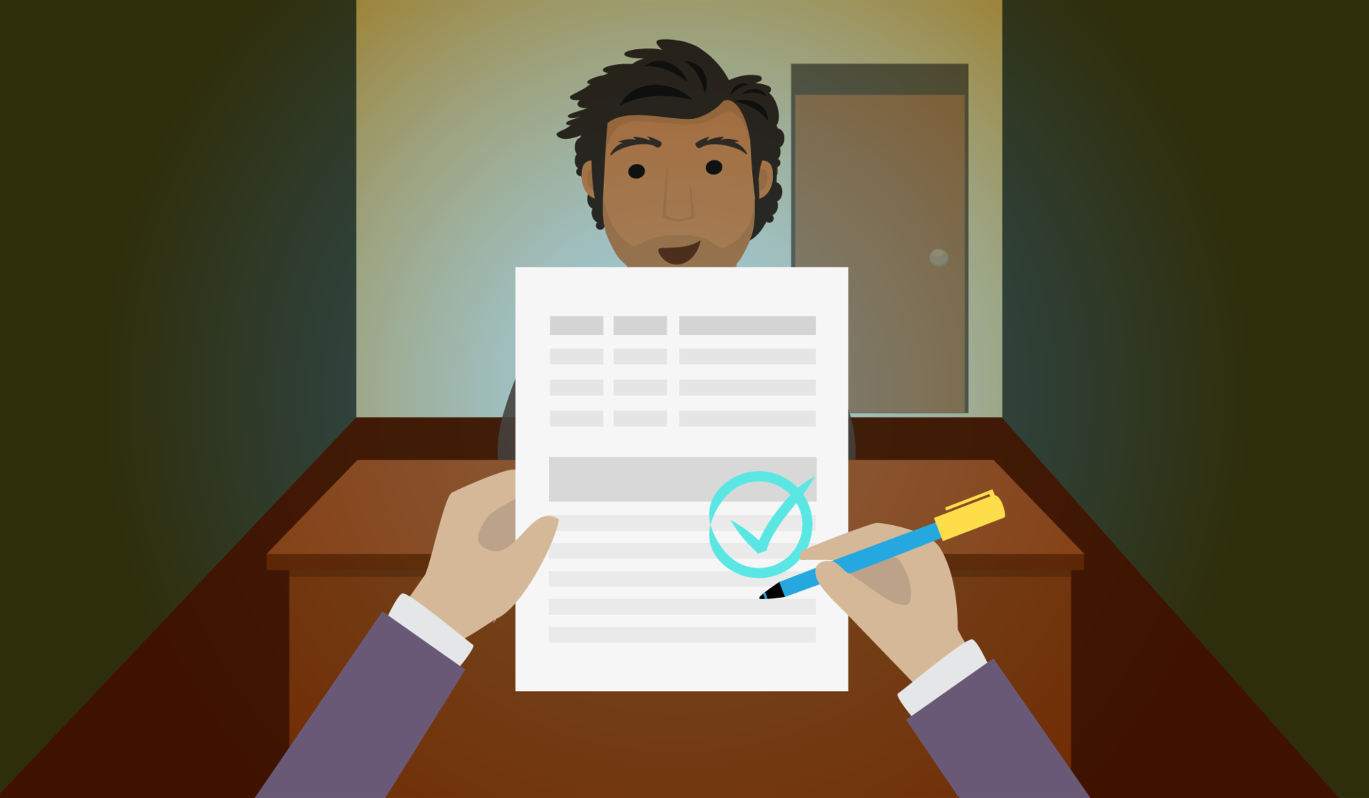 Tanto el entrevistador como el entrevistado tienen unos objetivos en la entrevista de trabajo.