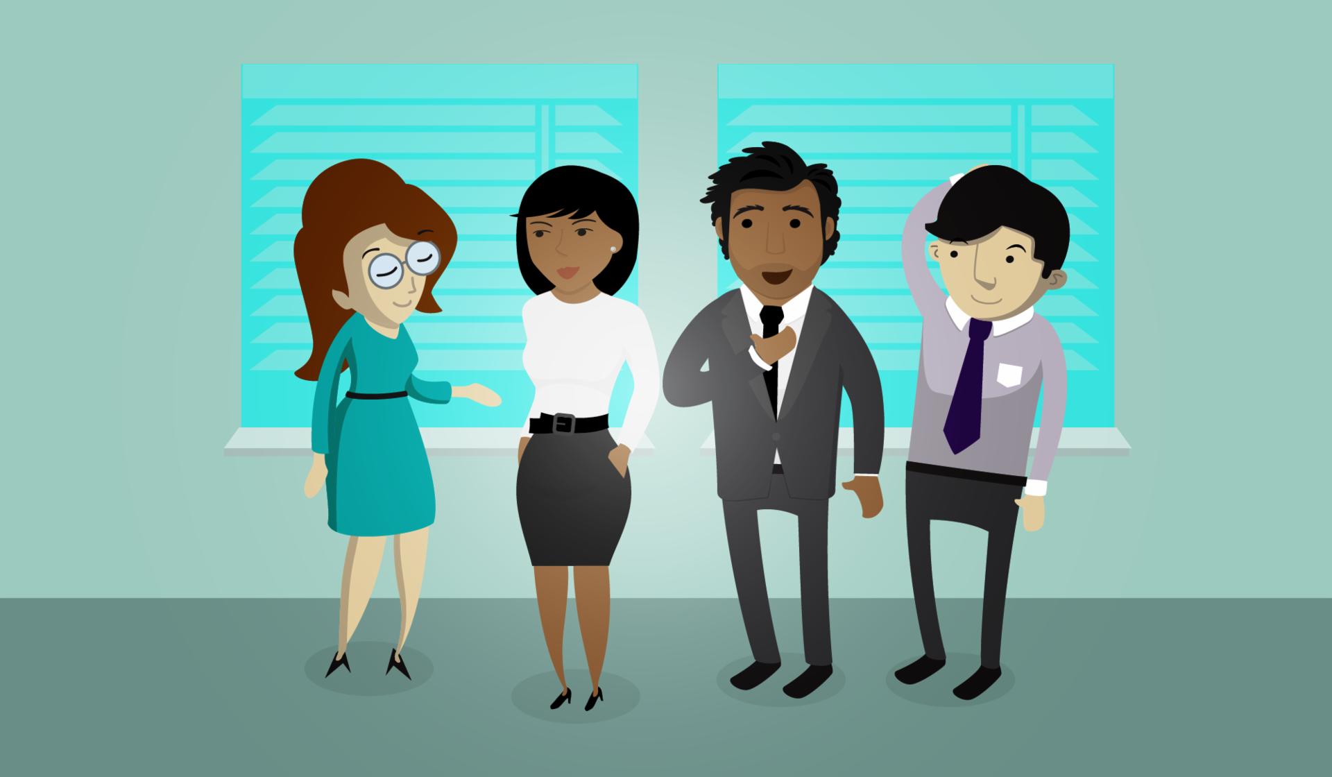 Ter uma boa relação com seus colegas de trabalho, lhe fará ser mais produtivo.