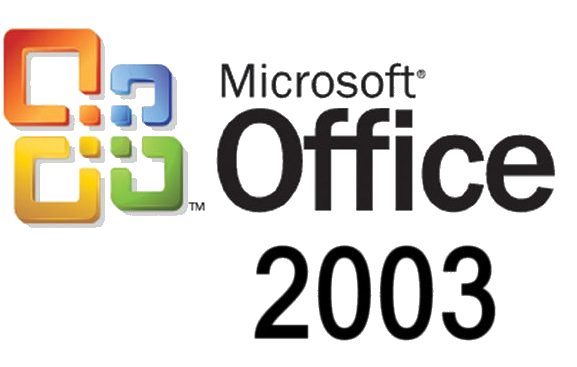 Logo de office 2003.