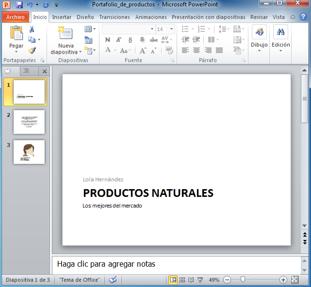 visualizador powerpoint 2010