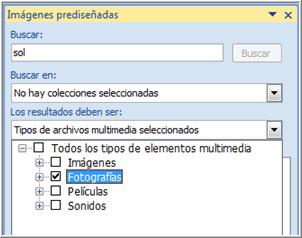Tipos de archivos multimedia