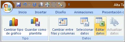 Comando editar datos