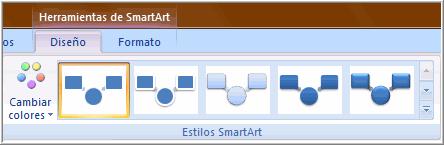 Estilo SmartArt