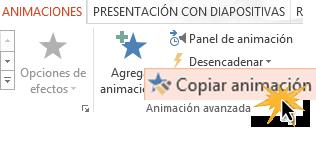 Haz doble clic para añadir la animación a varios objetos.